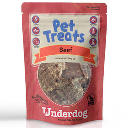 '$1 WITH MIN $80': Underdog Beef Air Dried Dog Treats 10g