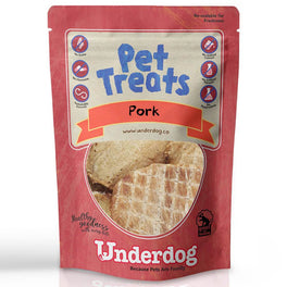 Underdog Pork Air Dried Dog Treats 80g