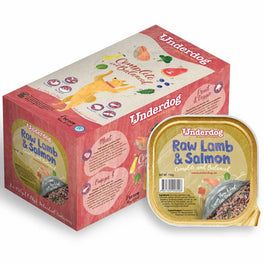 'FREE TREATS': Underdog Raw Lamb & Salmon Complete & Balanced Frozen Dog Food 1.2kg