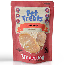 Underdog Turkey Air Dried Dog Treats 80g