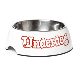 Underdog Dog Bowl With Stainless Steel Insert 350ml