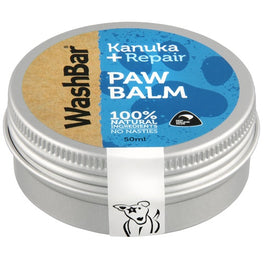WashBar 100% Natural Paw Balm For Dogs 50ml