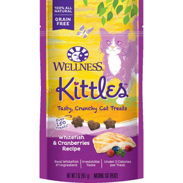 Wellness Kittles Whitefish & Cranberries Cat Treats 57g