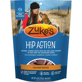 '65% OFF': Zuke's Hip Action Dog Treats With Glucosamine & Chondroitin Chicken Recipe 6oz (Exp 18 Jul 19)