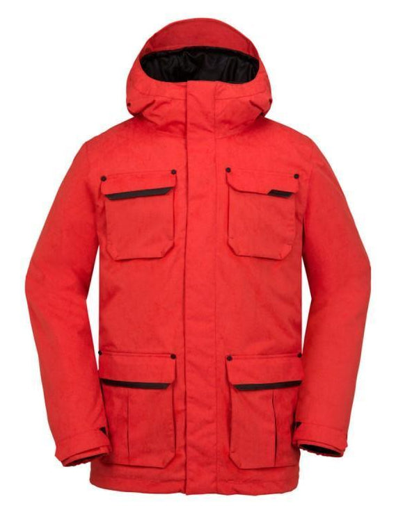 Volcom Pat Moore Insulated Snowboardjakke 2017 Fire red - Blacksnow.dk