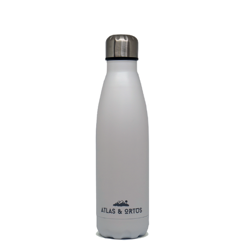 Stainless Steel Bottle - White