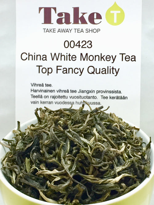 China White Monkey Tea Top Fancy Quality