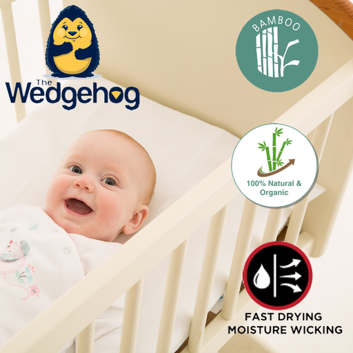 Wedgehog 174 Reflux Wedge Crib 38cm Includes Free Bundled
