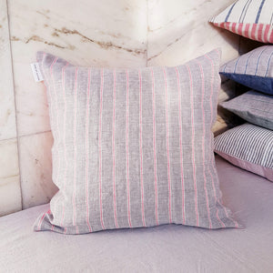 Unik by Nature Padva Linen Cushion Cover 50 x 50 Wild Rose - Unik by Nature