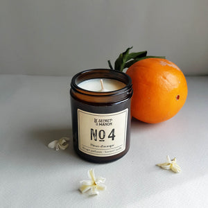 Le Secret de Manon Fleurs d'Oranger Scented Candle - Unik by Nature