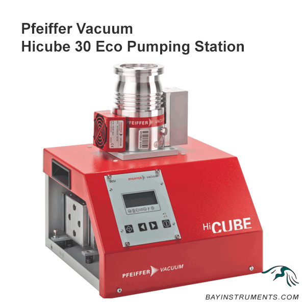 Pfeiffer Vacuum HiCube 30 Eco Pumping Stations, pumping stations - Bay Instruments, LLC