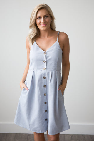Harper Dress - boutique fashion - The Girls In Grey