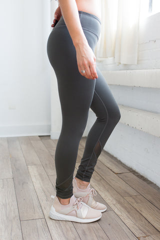 Bree Full Length Leggings - boutique fashion - The Girls In Grey