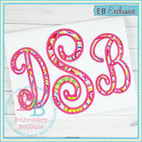 Perfectly Posh Applique Alphabet - embroidery-boutique