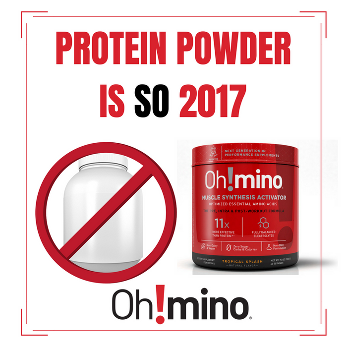 Oh!mino® Muscle Synthesis Activator†  – Stimulant-Free Tropical Splash