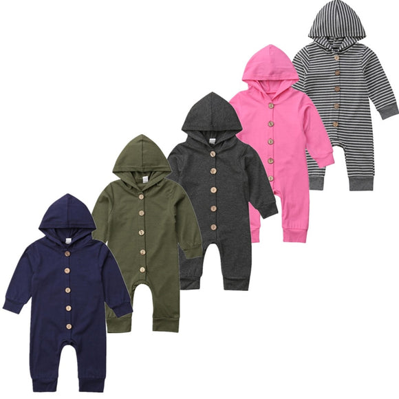 Julian Hooded Romper