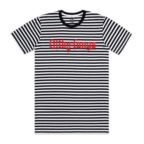 FILTHY AF UNISEX STRIPED TEE