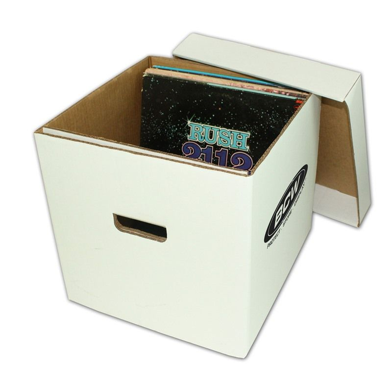33 RPM Vinyl Record Storage Box