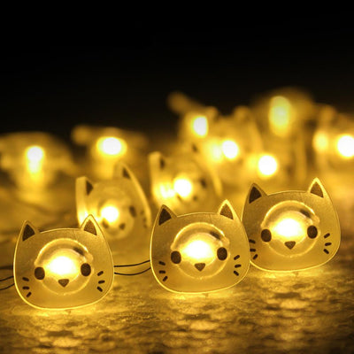 Starlight Cat Fairy LED Decoration Light