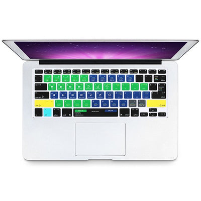 Software Shortcut Keyboard Cover Skins For Macbook Pro, Air & Retina