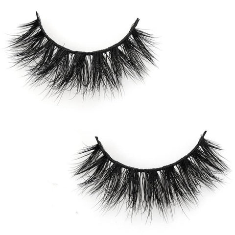 Fake Eyelashes - 3D Mink Lashes - Rubi
