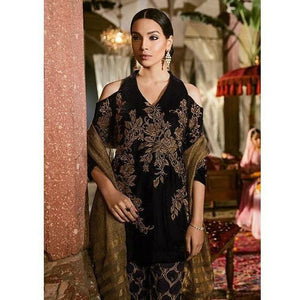 Iznik Festive Velvet Collection PITCH BLACK - (IVC-09)