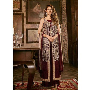 Iznik Festive Chiffon Collection - BURNT RED (IZK 03)