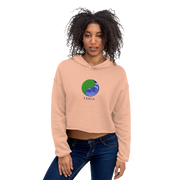 Earth - Crop Hoodie - GiO (1998) Online Clothes Shop