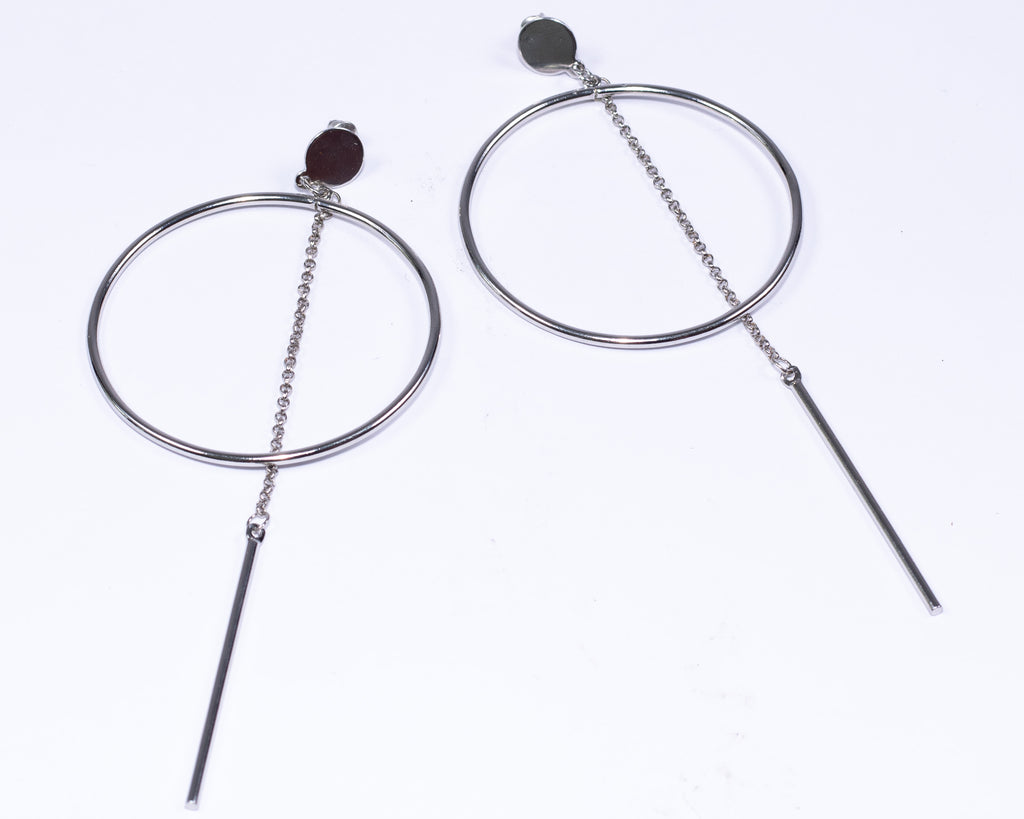 The Nadia Earrings (Silver)