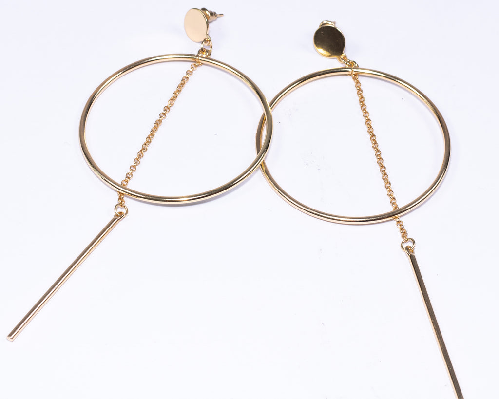 The Nadia Earrings (Gold)