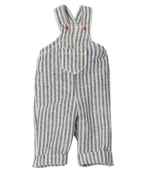 Maileg Outfit - Overalls Striped Mini