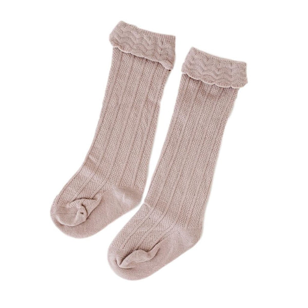 Kinsfölk Knee High Socks - Dusky Pink