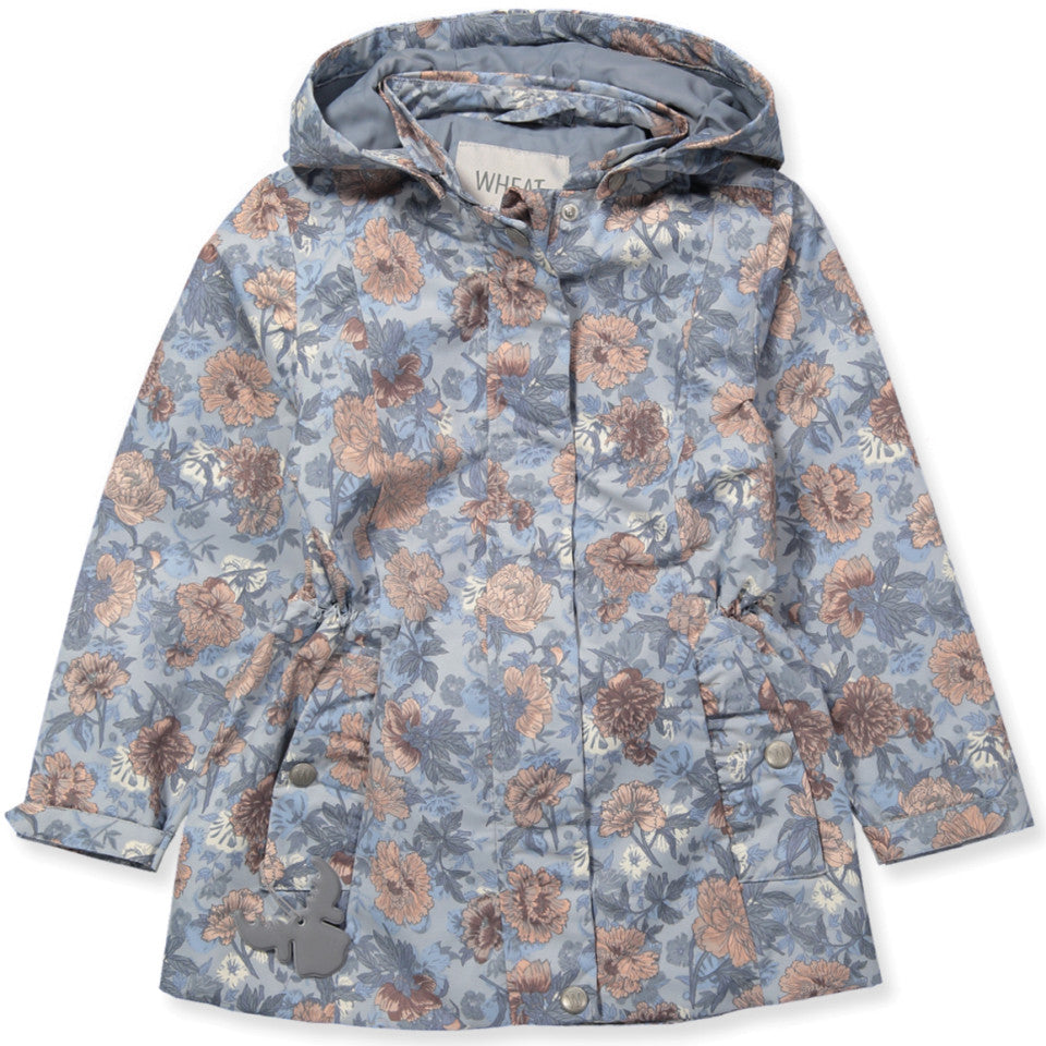 Wheat Karla Jacket (Size 7 & 8 Yr) - Pearl Blue