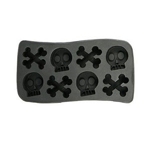 Halloween Skull and Crossbones Ice Cube Tray