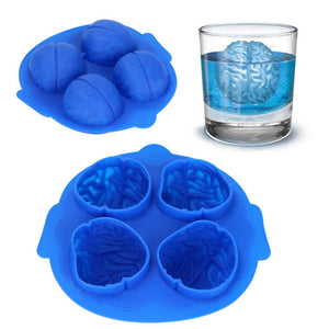 3D Brain Ice Cube Mold