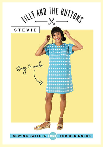 Tilly and the Buttons Stevie  dress top