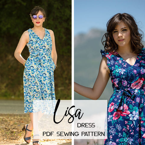 Athina Kakou sewing pattern Lisa Dress