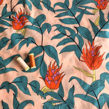 Lady McElroy - Tropical Stems Cotton Lawn Dress Fabric