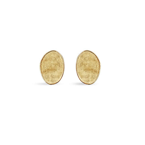 A pair of small stud earrings by marco bicego Santa Fe Jewelry.