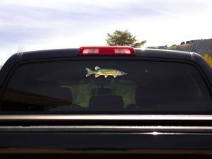 Chain Pickerel Truck Decal
