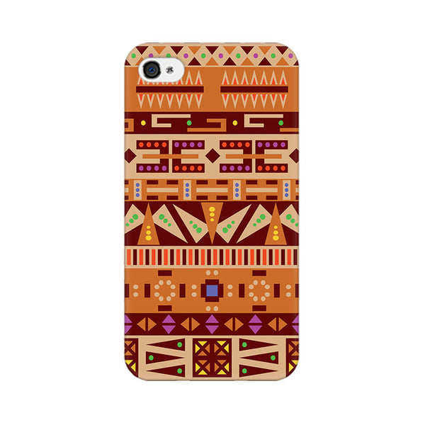 Tribal Pizza Apple iPhone 4 Mobile cover-Frequncy