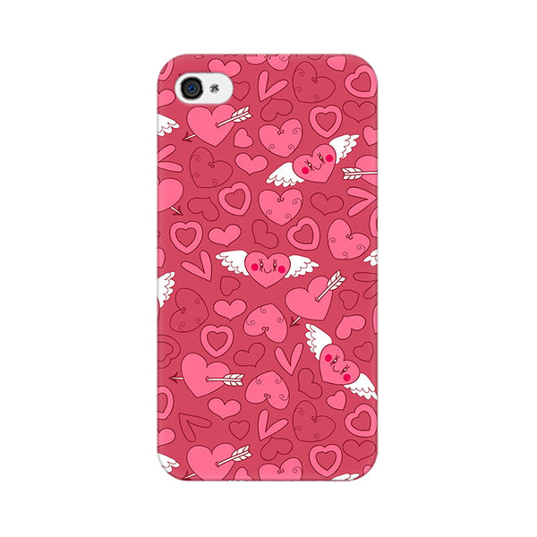 Wngs Of Love Apple iPhone 4 Mobile cover-Frequncy