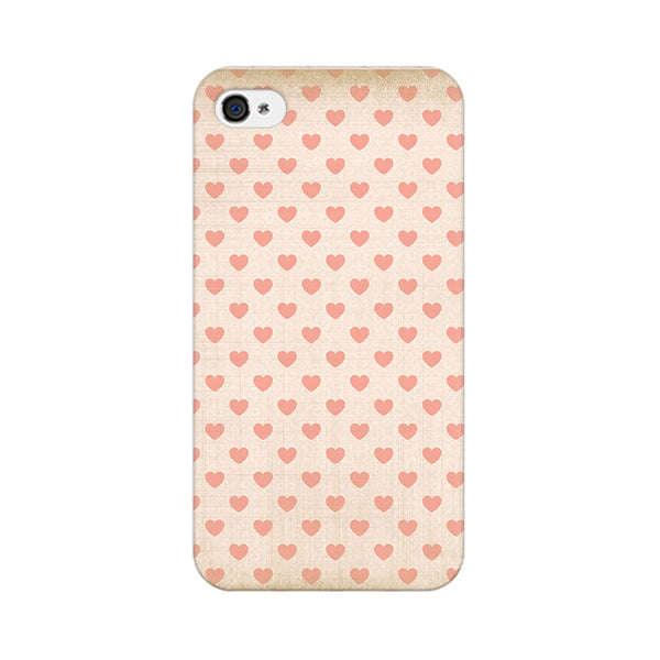 Vintage Heart Apple iPhone 4 Mobile cover-Frequncy