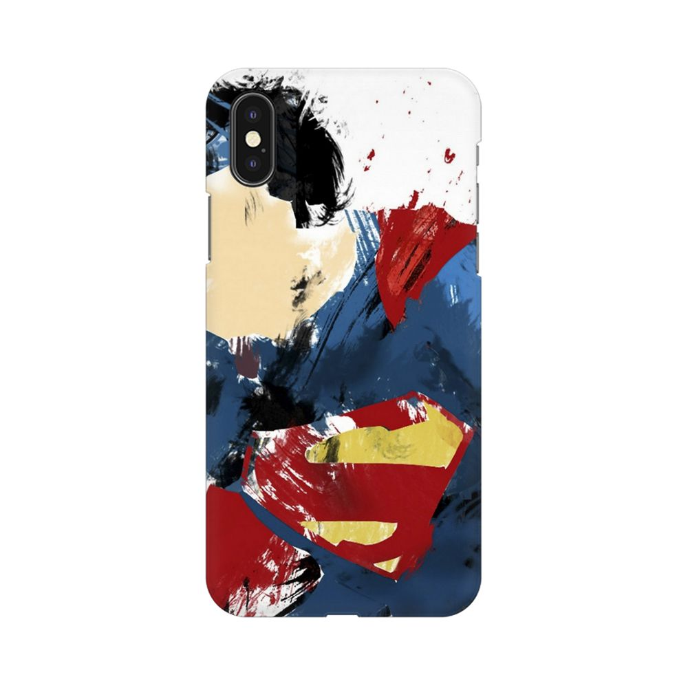 Superman Abstract Apple iPhone X Mobile cover