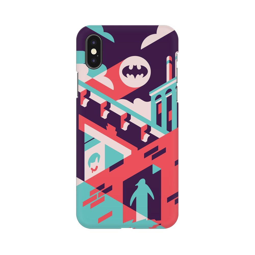 Where Is Batman Apple iPhone X Mobile cover