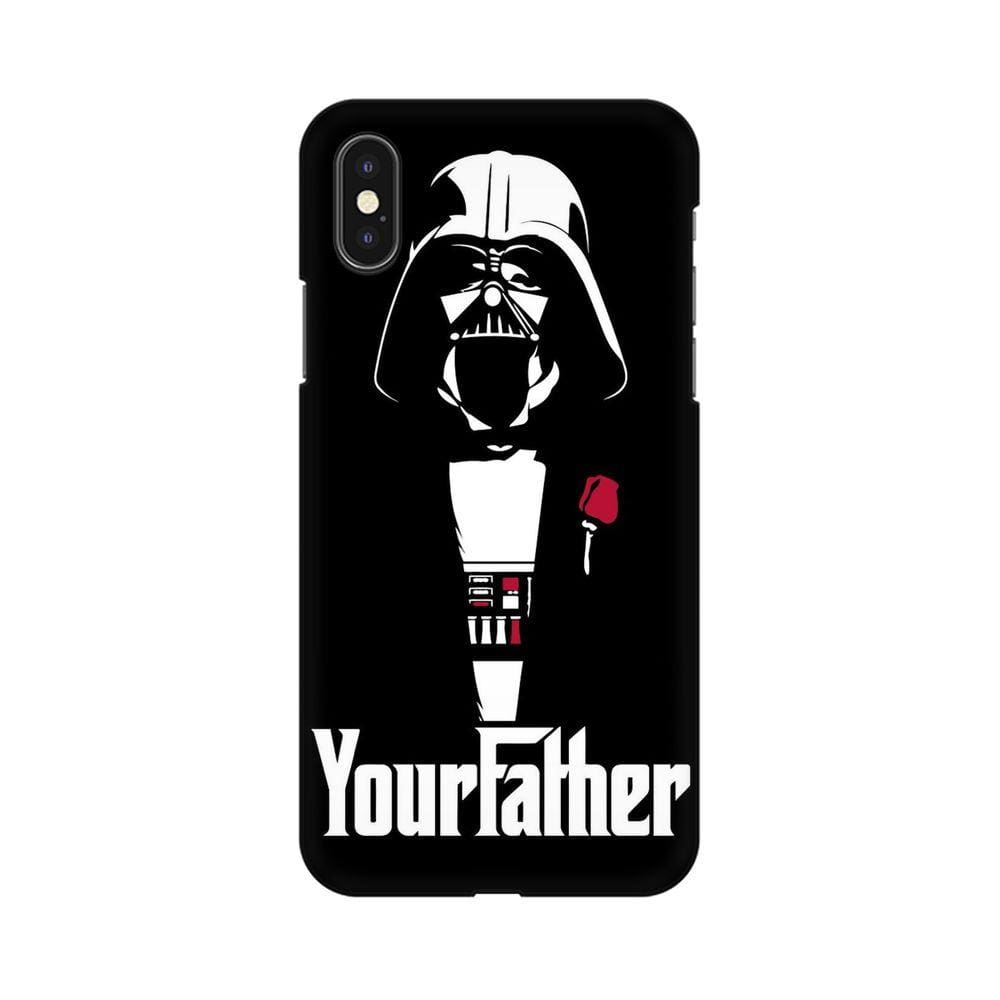 Your Father Apple iPhone X Mobile cover