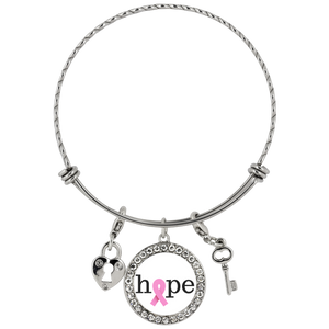 Hope For Breast Cancer Chloe Bracelet - The Praying Woman