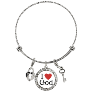 I Love God Chloe Bracelet - The Praying Woman