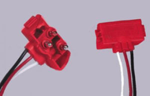 "Maxxima® 3-Pin Right Angle STT Plug 10"" Leads [M50900]"