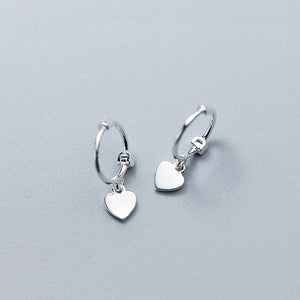 The HEART earrings